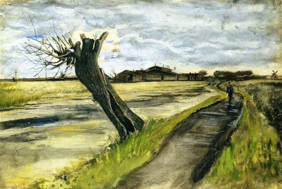 Pollard Willow, 1882, Vincent van Gogh