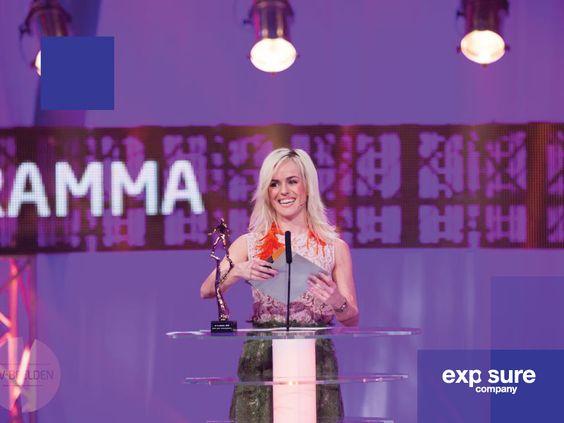 Presentatie kaarten voor het TV Beelden Gala 2016.
