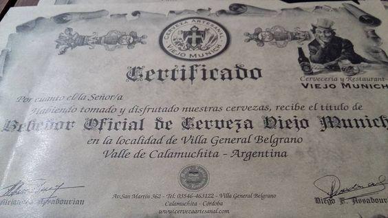 #bebedor #oficial #certificado