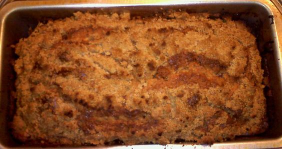 cinnamon streusel bread that i made