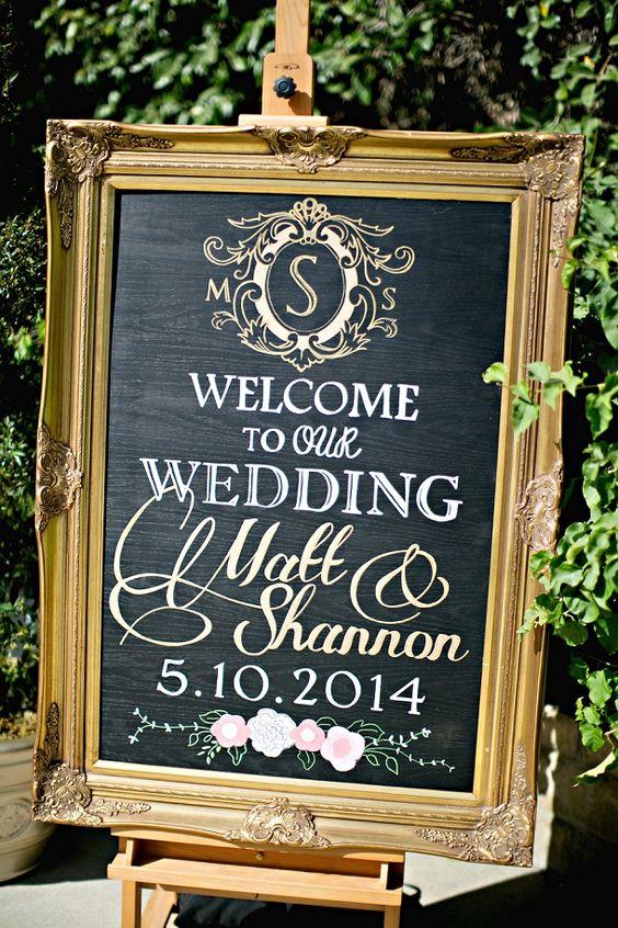 Shannon & Matt's Romantic Blush & Gold Wedding