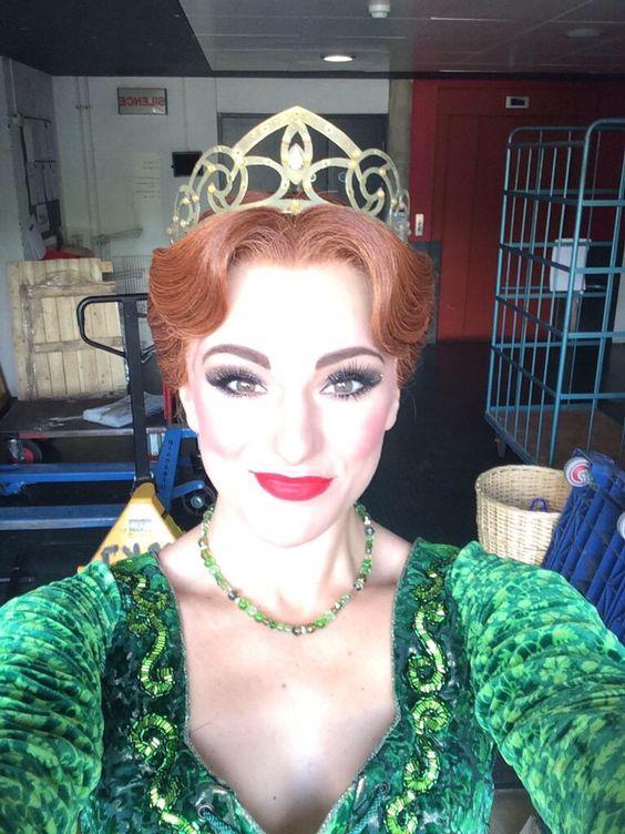 Princess Fiona makeup