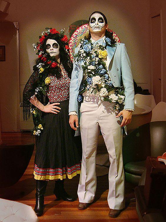 Goodwill Costume Ideas: Dia de los Muertos #goodwill #costume #DIY