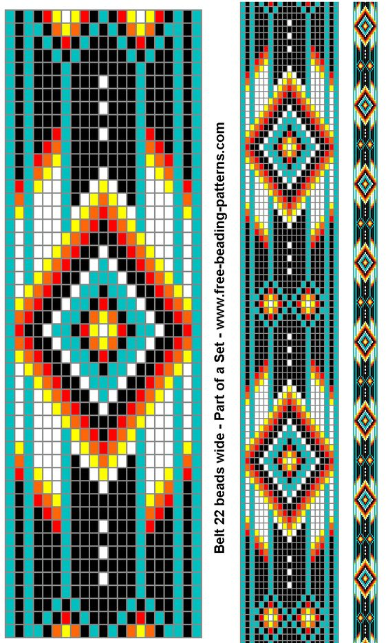 native american beading patterns | Native American Technology & Art: a topically organized educational ...
