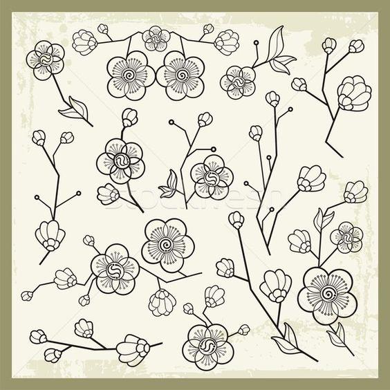3488370_вектора-набор-традиционный-Японский-украшения.jpg (600×600)