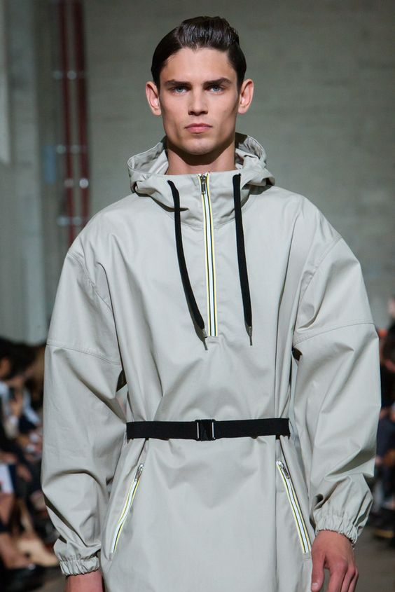 According to Kris Van Assche it's all about the finer details of sportswear the snap buttons, the functional pockets and the simplicity of elastic. more on www.stylecartel.com