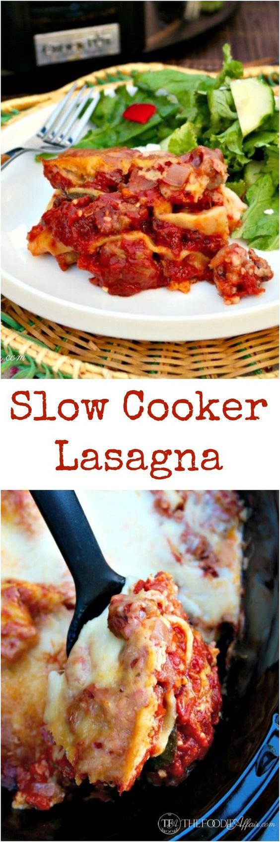 ... tomatoes slow cooker lasagna italian sausages lasagna cheese sausages