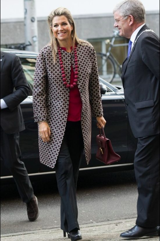 Queen Maxima of The Netherlands attends for the Social Powerhouse Symposium Serious Social Value on February 4, 2015 in Utrecht, The Netherland