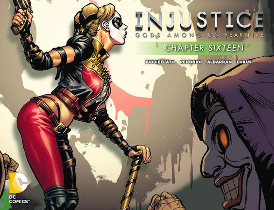 Weird Science DC Comics: Injustice: Gods Among Us: Year Five Chapter 16 Rev...