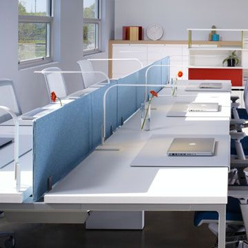 Open Office Workstations Shared 3