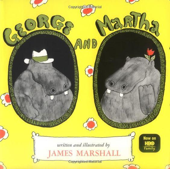 George and Martha (the series): James Marshall