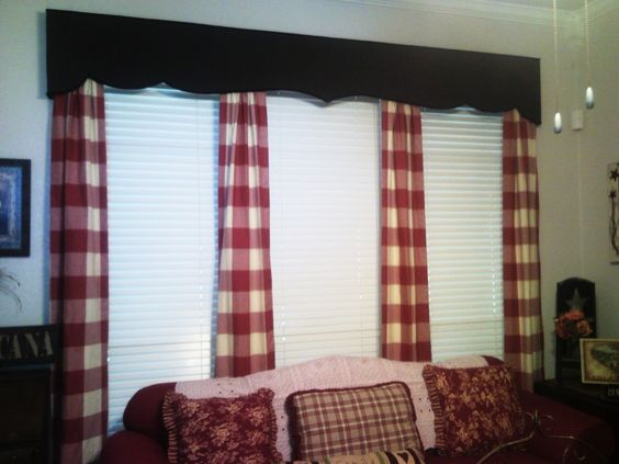 Custom Window Treatment Window Ideas Pinterest