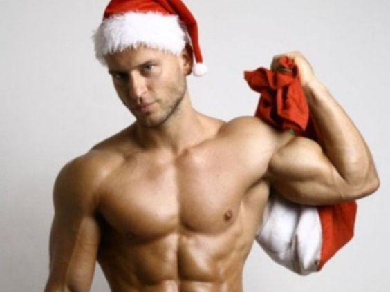 Babbo Natale da giovane.