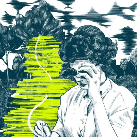 nicole rifkin, illustration, nostalgia, narrative, memories, expressive, emotion, upper playground