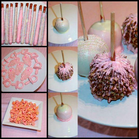 apples cakes showers girls love girl baby showers baby showers caramel