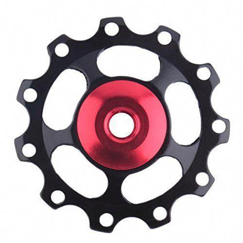Coohole 11t Mtb Bike Rear Derailleur Bearing Pulley Aluminium Jockey Wheel Parts Mtb Bicycle Mtb Bike Cycling Accessories