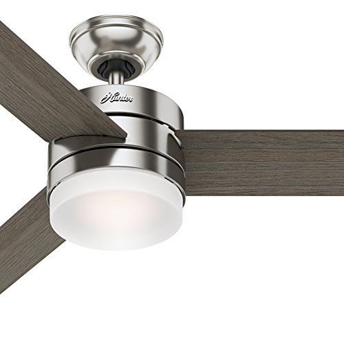 Hunter 54 Contemporary Ceiling Fan With Remote Control I Https Www Amazon Com Dp B074htyy95 Contemporary Ceiling Fans Ceiling Fan Ceiling Fan With Remote