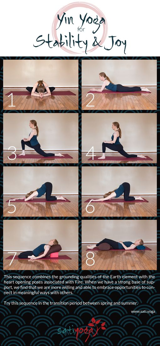 19++ Yin flow yoga sequence trends