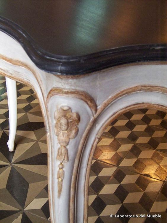 Restauración del mueble, dorados y policromías