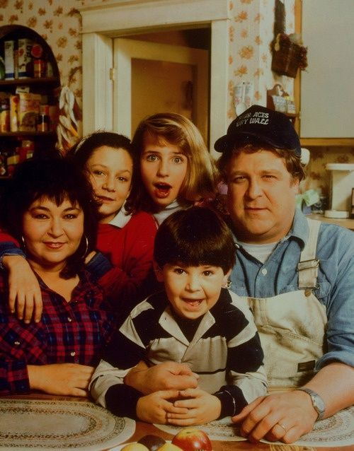 Roseanne...forgot how much I love this show. never miss watching the re-runs if know they are on TV.