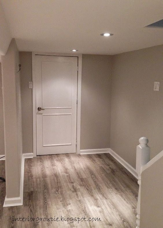 Behr moth gray i really like the floors dsgn Paint colors that go with grey flooring