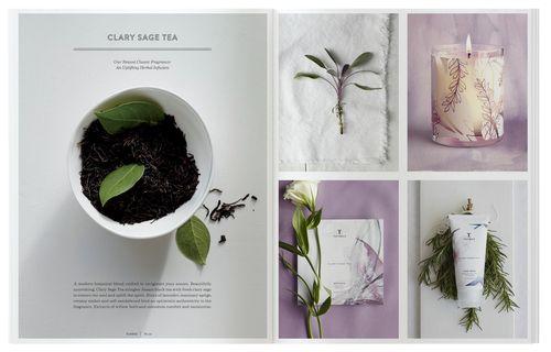 Thymes 2014 Catalog via @Matty Chuah Dieline