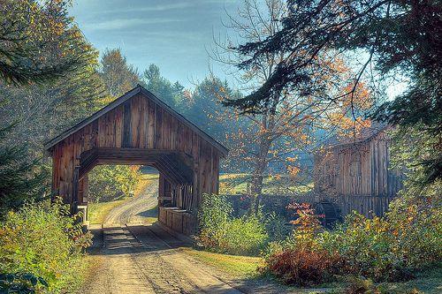 + country covered bridge