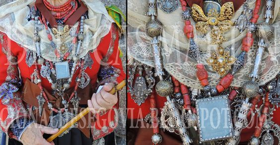 INDUMENTARIA TRADICIONAL DE SEGOVIA - TRADITIONAL COSTUME OF SEGOVIA: MUSEO ON LINE