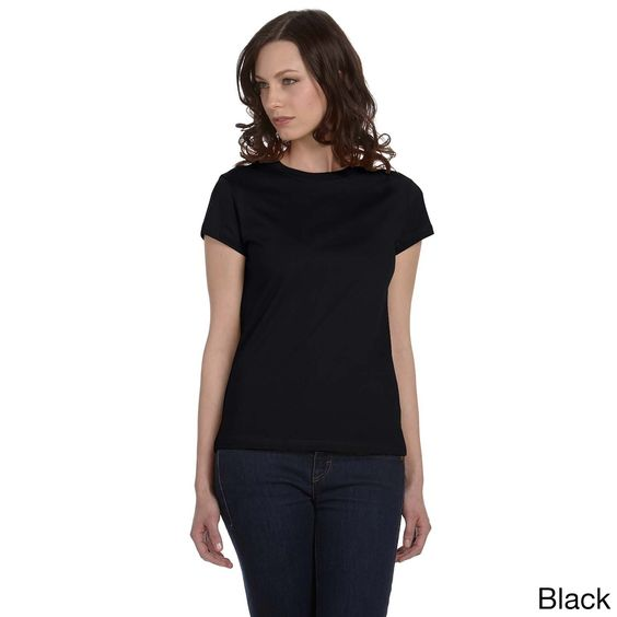 Bella Women's Crew Neck Fitted T-shirt