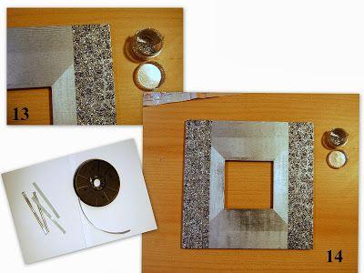 La aventura de las manualidades marco espejo con papel for Marcos de espejos