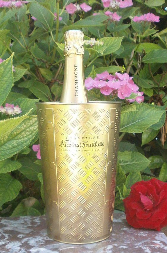 Français seau à champagne Nicolas par FrenchVintageByManue sur Etsy