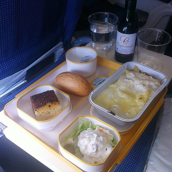 airplane food iberia airlines what i ate in flight
