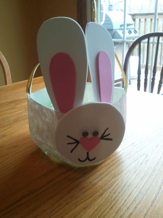 Milk jug Easter basket