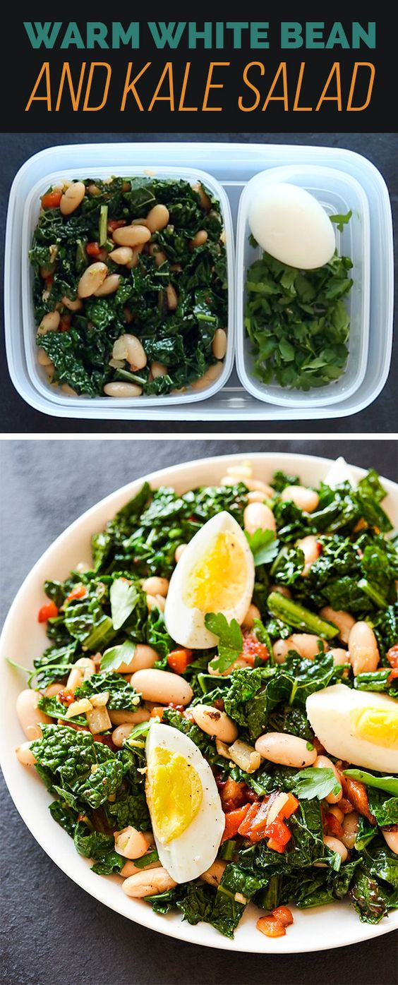 Tasty Kale And White Beans Recipe — Dishmaps