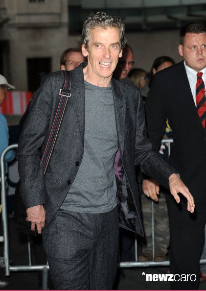 Peter Capaldi pictured at BBC Radio 1 on September 21, 2014 in London, England. (Photo by SAV/GC Images)