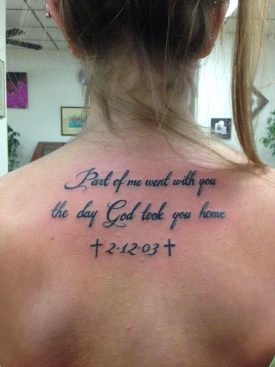 In memory of grandpa tattoo tattoos pinterest for Memorial tattoos for daughter