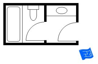 One of the main challenges with small bathroom floor plans for Bathroom remodel 5x9