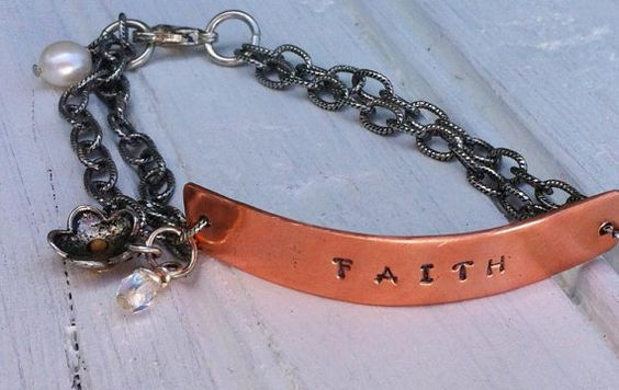 Reminder of Faith Mustard Seed Copper Bracelet  Hand by HandMarked, $18.00
