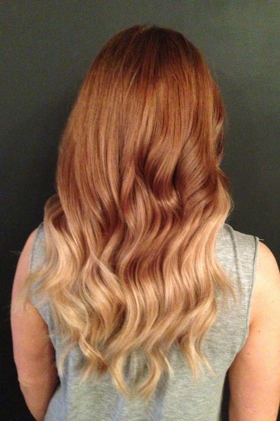 Warm up for summer! #warmombre #ombre #erinkoslohair #vanitycorner @Vanity Corner Hair Boutique