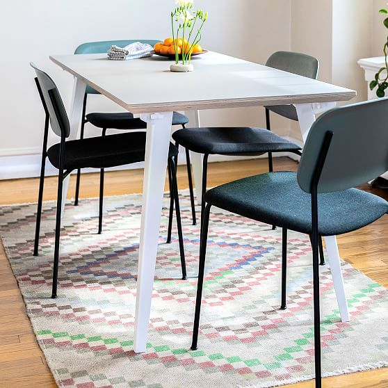 Floyd Rectangle Dining Table Black In 2020 Expandable Dining