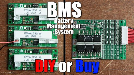 Bms Battery Management System Diy Or Buy Properly Protecting Li Battery Pack Battery How To Find Out