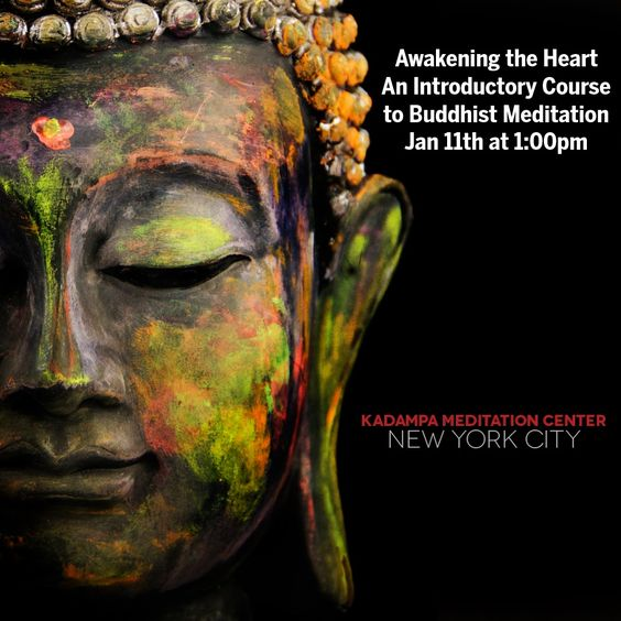 Once a month we hold this introductory course designed especially for beginners. In this course you will learn meditation and the Buddhist approach to training the mind.