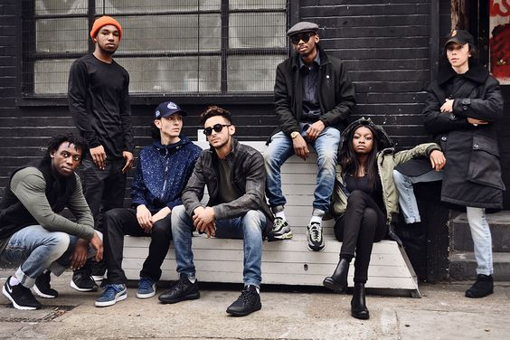 Little Simz and her Space Age crew rocking our #newcollection