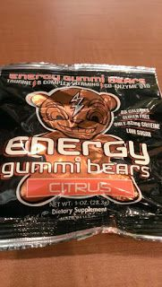 Banshee's Breakfast: Review - Energy Gummi Bears