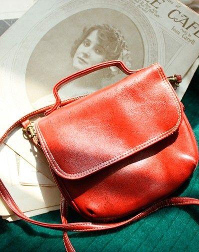 四季都值得拥有的红色古董小包