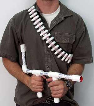 tampon blow gun