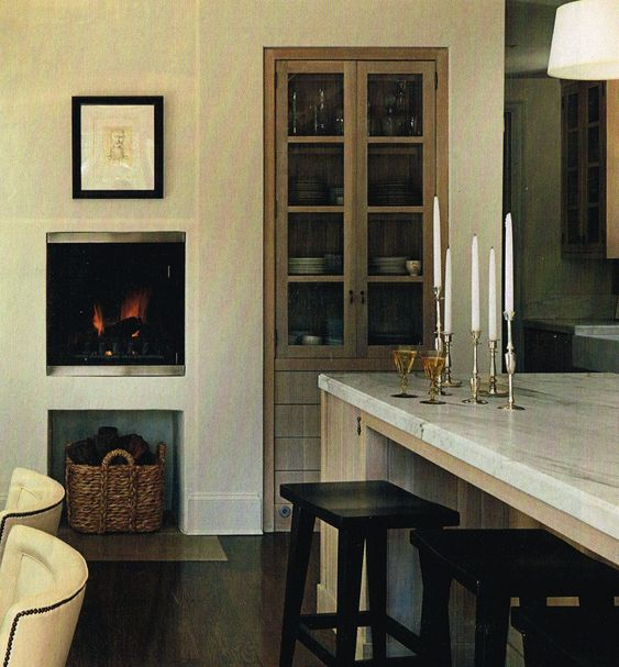 Fireplaces, Rustic Modern And Built Ins On Pinterest