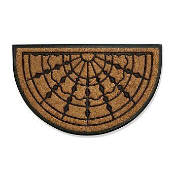 "Denver Broncos 24"" X 39"" Coir Door Mat"