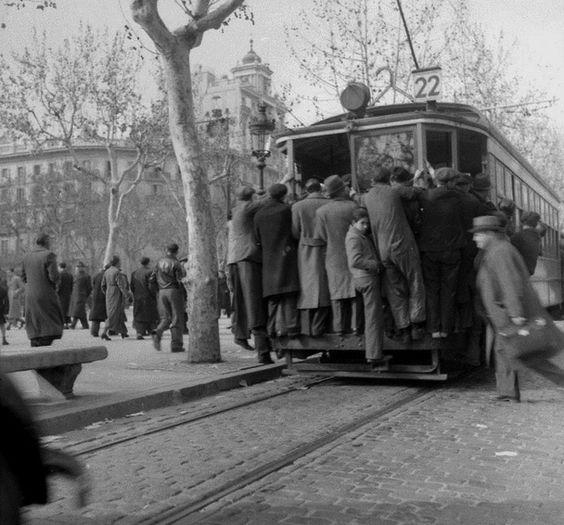Spain. Barcelona, 1939 // Albert Louis Deschamps