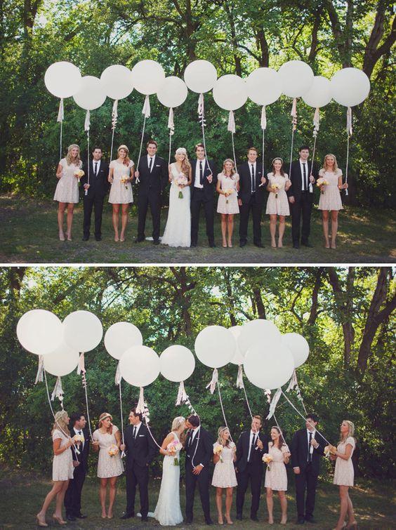 Balloon Wedding Décor Ideas: 10 Fun Ways to Incorporate Balloons Into Your Big Day - Wedding Party: